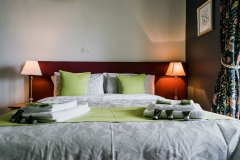 Room 2 or Galahad, ensuite with kingsize bed and own balcony