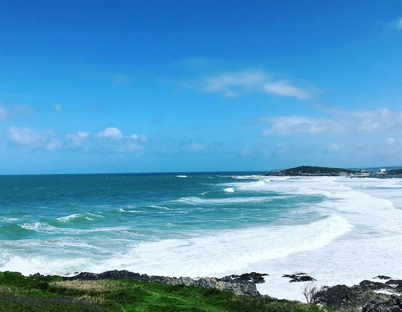Fistral Bay Newquay Cornwall - Avalon Guest House - avalonguesthousenewquay.co.uk