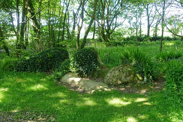 Mud Maid - Lost Gardens of Heligan - Cornwall,England - Avalon Guesthouse