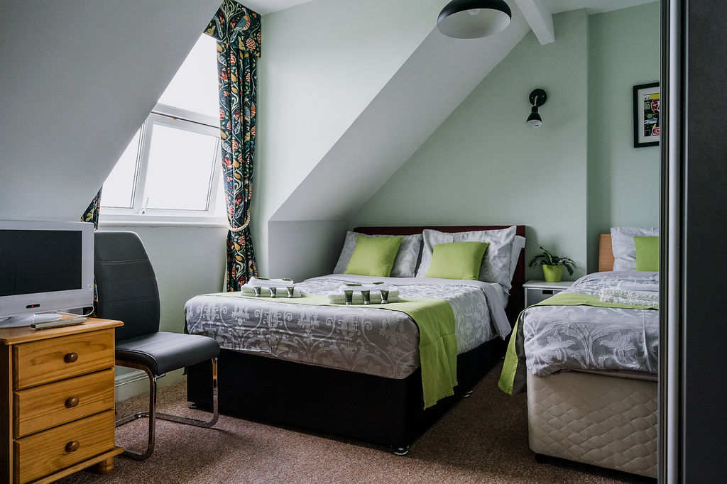 Avalon Guest House Newquay Cornwall - Gawain Guest Room
