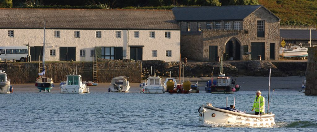 The Village and Harbour at St Michael's Mount in Cornwall - avalonguesthousenewquay.co.uk
