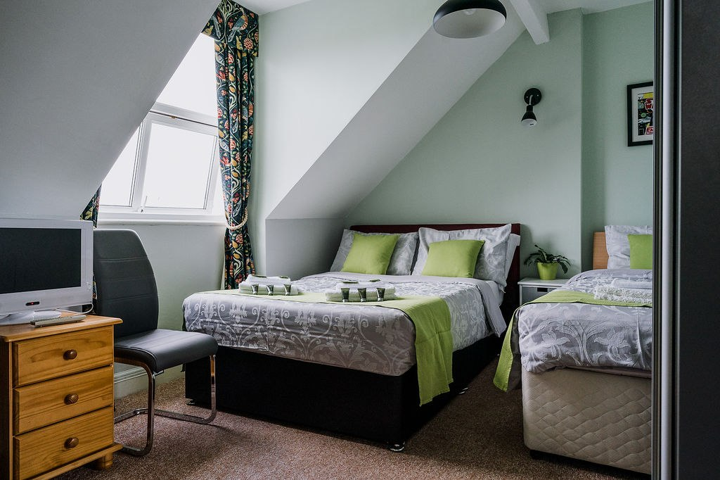 Gawain Family Guest Room- AvalonGuestHouseNewquay.co.uk