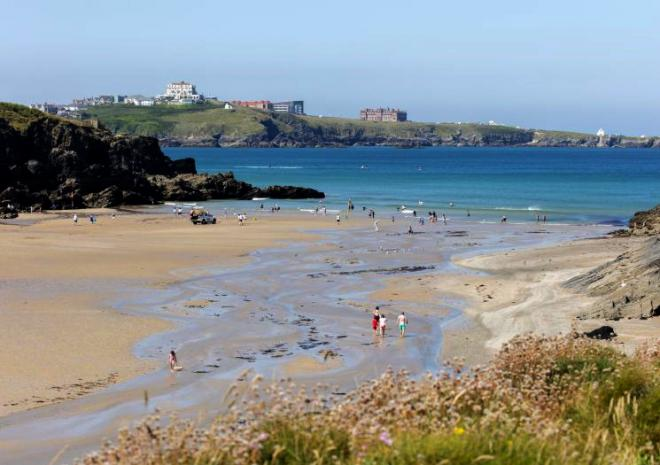 Porth Beach-avalonguesthousenewquay-avalonguesthousenewquay.co.uk